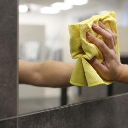 Снимка на Професионална микрофибърна кърпа за почистване на стъкла - MicroKoi