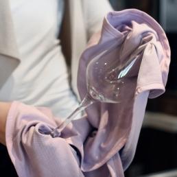 Снимка на Професионална кърпа за полиране на чаши